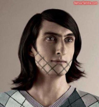 image تصاویر خنده دار ترین مدل های جدید ریش و سبیل مردانه