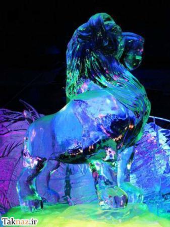 image عکس های جالب مجسمه های ساخته شده با یخ