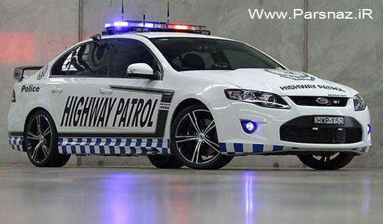 image عکس پر سرعت ترین ماشین پلیس جهان