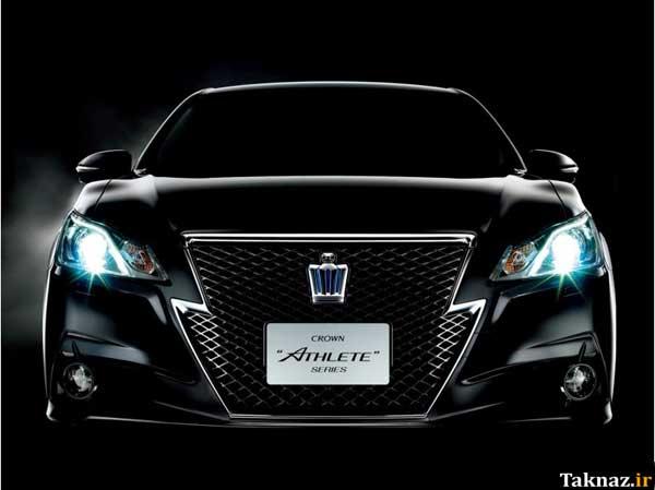 image, جدیدترین عکس های دیدنی از ماشین جدید تویوتا کراون مدل ۲۰۱۳