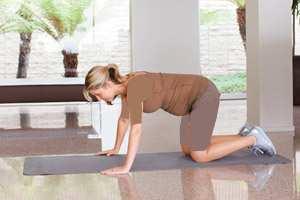 image ورزش های مفید برای داشتن جسم سالم در ماه های اول بارداری