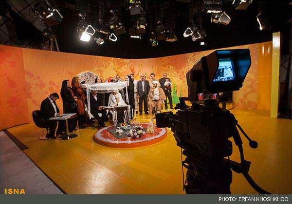 image عکس های مراسم عقد زنده یک زوج در برنامه ویتامین ۳