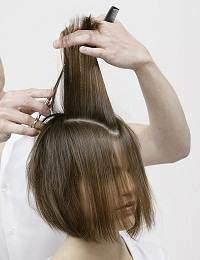 image آموزش استثنایی کوتاهی و رنگ موی زنانه