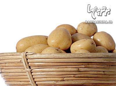 image بهترین جای نگهداری سیب زمینی در خانه