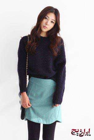 image مدل های جدید لباس بافتنی دخترانه