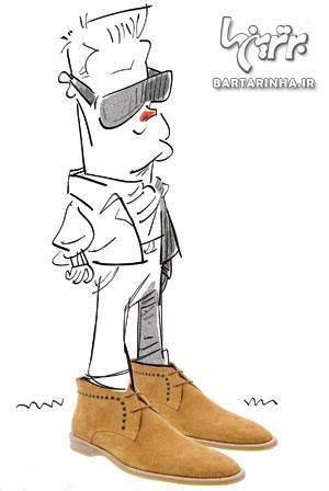 image آقایان در هر مکانی باید چه کفشی بپوشند