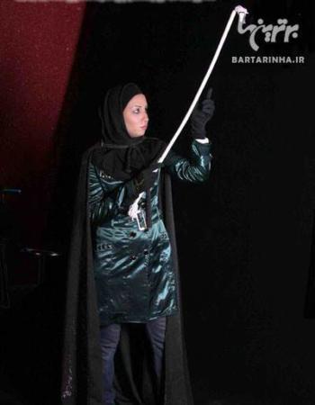 image شعبده باز زن ایرانی رقیبی جدی برای جادوگر معروف کریس آنجل