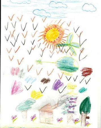 image شناخت روانشناسی شخصیت بچه ها با نقاشی