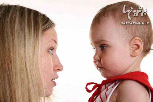 image حرف زدن با نوزاد تازه متولد شده خوب است یا بد