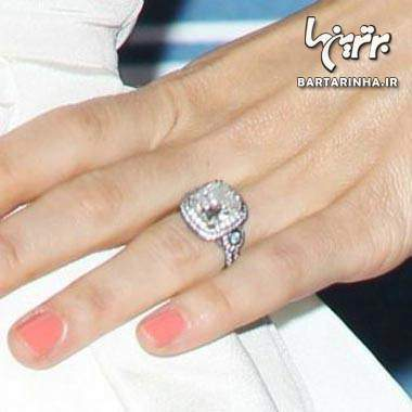 image عکس مدل های زیبای حلقه ای ازدواج عروسی افراد مشهور