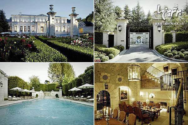 image فهرست تصویری گرانترین و شیک ترین خانه های جهان