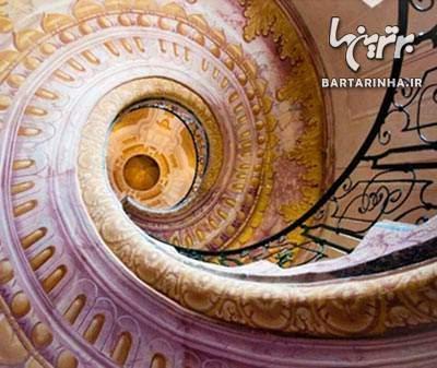 image زیباترین ایده های معماری سازه های پلکانی شکل دنیا