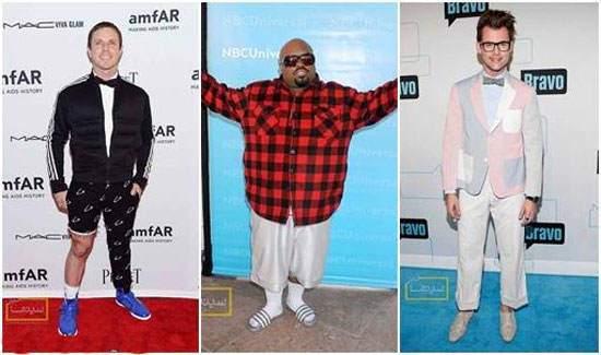 image عکس های بد مدل ترین لباس های هنرپیشه های مرد معروف