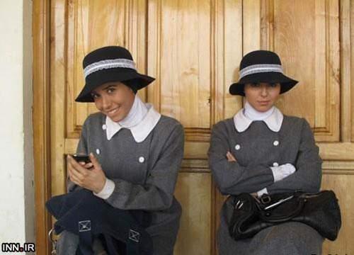 image تصاویر جالب یکی از خوانندگان قدیمی گروه آریان در سریال کلاه پهلوی