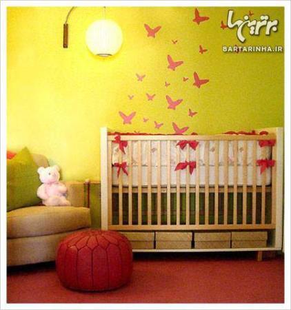 image نکته های جدید برای طراحی و رنگ آمیزی اتاق خواب کودک