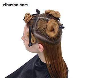 عکس, آموزش تصویری کوتاه کردن موی بلند زنانه و رنگ زدن مسی طلایی