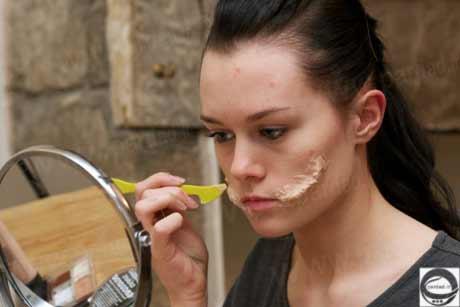 image عکس های دیدنی معجزه گریم با لوازم آرایش در زندگی یک دختر