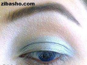 image آموزش تصویری و کامل آرایش چشم عروس جدید