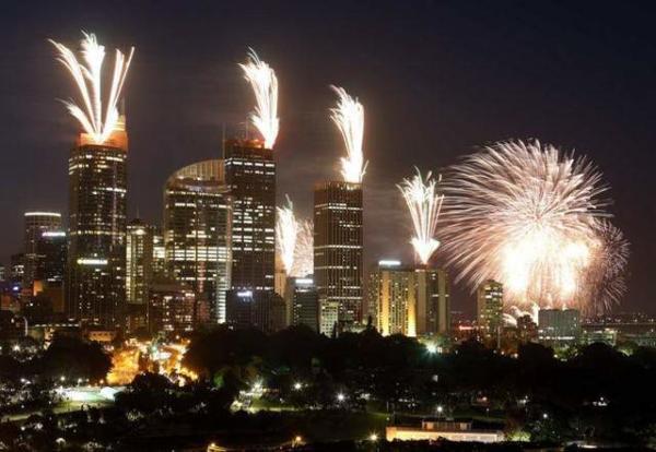 image جشن سال نو در سیدنی استرالیا
