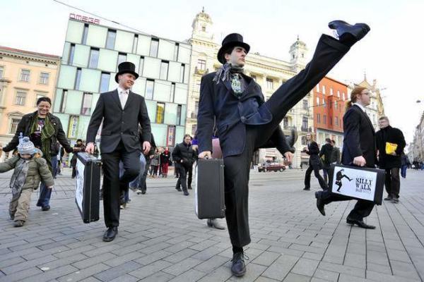 image جشنواره راه رفتن احمقانه در جمهوری چک