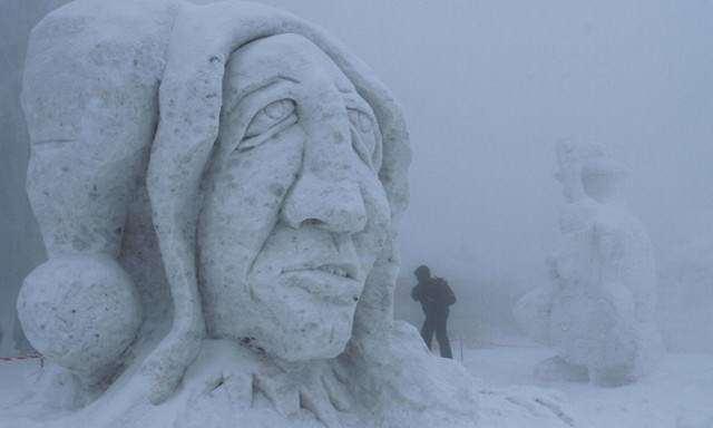 image جشنواره مجسمه های برفی و یخی در جمهوری چک