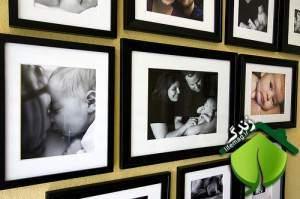 image راهنمای استفاده از قاب عکس در دکوراسیون منزل