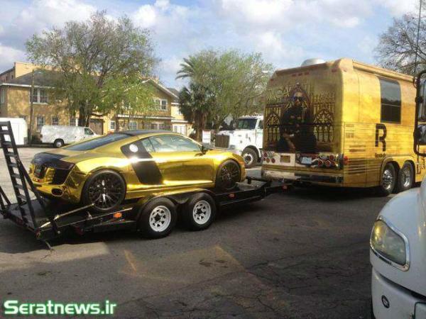 image, جدیدترین مدل لامبورگینی ساخته شده از طلا