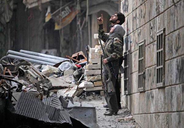 image عکس های جالب تک تیراندازان زن در ارتش سوریه