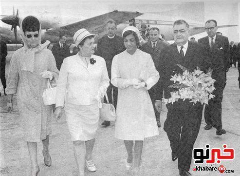 image عکس های اشرف پهلوی در زمان قدیم