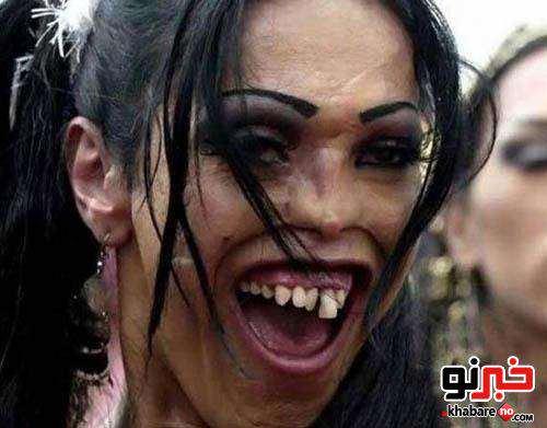 image عکس های دیدنی زشت ترین دخترهای جهان