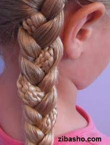 image, آموزش عکس به عکس حالت و مدل دادن به موهای صاف