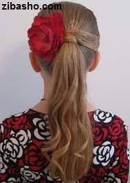 image آموزش عکس به عکس حالت و مدل دادن به موهای صاف