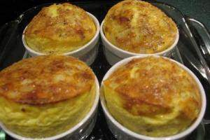 image آموزش تهیه غذاهای اتریشی سوفله تخم مرغ