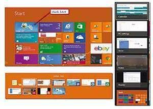 image, باز کردن دسکتاپ در ویندوز ۸ در حالت تمام صفحه