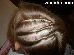 image آموزش عکس به عکس درست کردن مو به مدل افشان