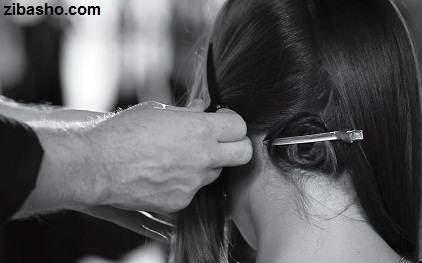 image آموزش مدل دادن به مو  به حالت امواج با اتوی مو