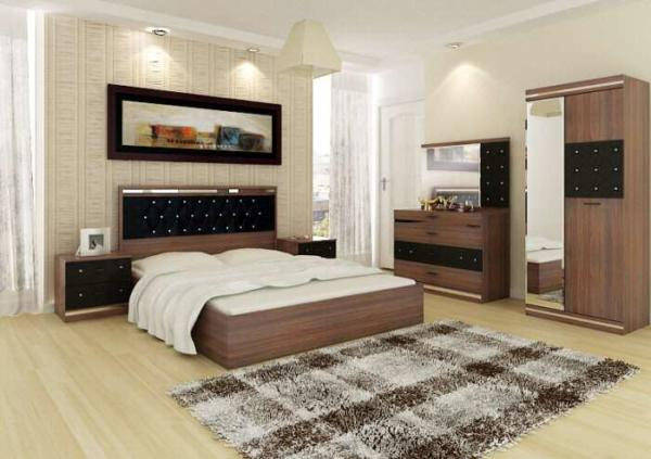 image مدل های جدید تخت و کمد اتاق خواب عروس