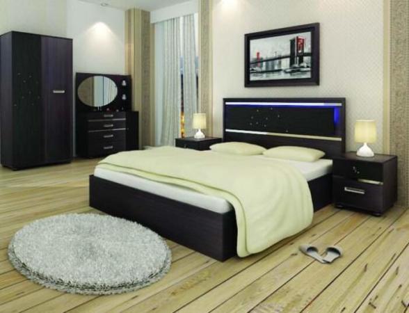 image ایده های جدید چیدمان اتاق خواب ترکیب رنگ سیاه و سفید