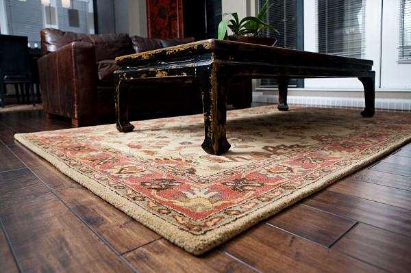 image راهنمای خرید قالیچه مناسب و شیک برای اتاق نشیمن