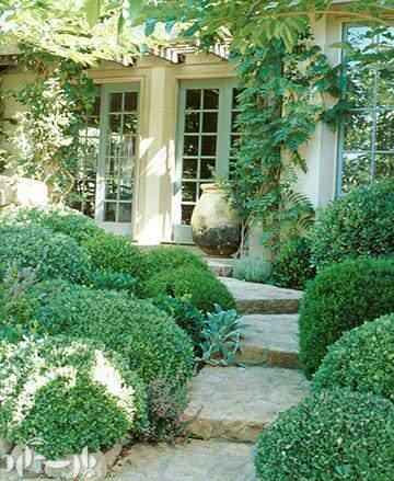 image جدیدترین مدل های ۲۰۱۳ باغچه های سنگی و تزیینی در حیاط