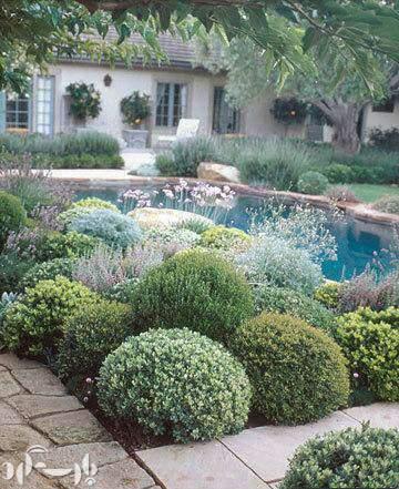 image جدیدترین مدل های  باغچه های سنگی و تزیینی در حیاط