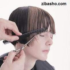 image آموزش عکس به عکس کوتاه کردن موی زنانه مدل پاپ