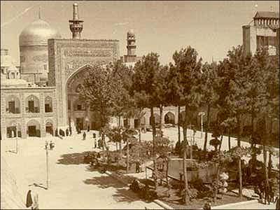 image عکس های قدیمی بسیار زیبا از حرم امام رضا علیه السلام