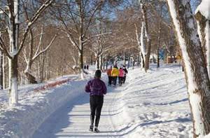 image توصیه های سلامتی برای ورزش صحیح در هوای سرد