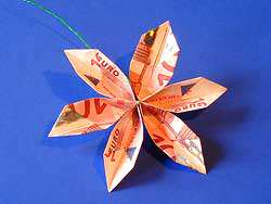 image مدل های دیدنی تزیین پول برای عروسی ها و تولد ها
