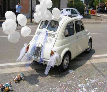 image مدل های شیک و مدرن تزیین و طراحی ماشین عروس
