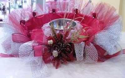 image, آموزش با عکس تزیین سینی حنا برای عروسی