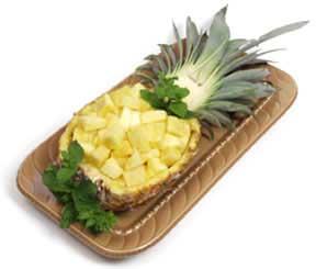 image آموزش تصویری تزیین آناناس برای مهمانی و عروسی ها