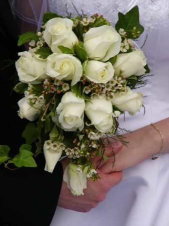 image دسته گل های جدید عروس  تصویری