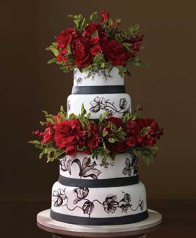 image عکس اولین کیک عروسی در دنیا